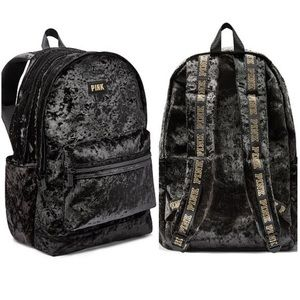 EUC ⚡️ Velvet Victoria's Secret Campus Backpack